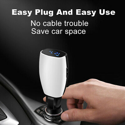 24F2 Automobile USB Charger Portable Automotive Electronics 16W Charging Adapter