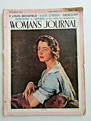 1944 WOMAN'S JOURNAL - FASHION ADVERTISMENTS HOME IDEAS 1940's - BUY IT NOW