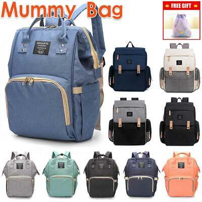 GENUINE Large LAND Multifunctional Baby Diaper Nappy Backpack Mummy Changing Bag