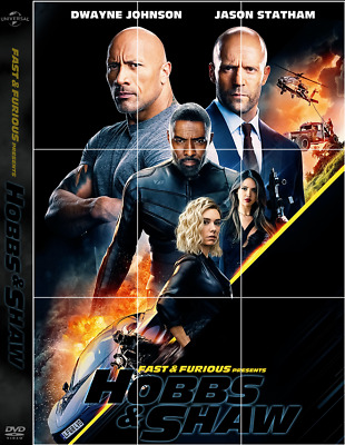 Fast And Furious Presents: Hobbs And Shaw DVD free shipping
