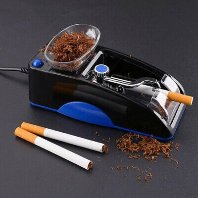 Automatic Cigarette Rolling Machine Tobacco Maker Electric Roll Injector Tube RO