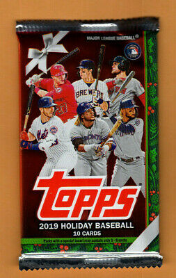 2019 Topps Holiday Baseball - Hot Pack - Relic/Auto/Patch - Alonso? Tatis?