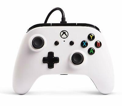 Wired Officially Licensed Controller For Xbox One S Xbox One X  Windows 10 White