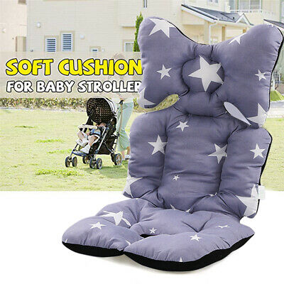 Washable Soft Baby Kid Stroller Pram Pushchair Car Seat Liner Pad Mat Cushion