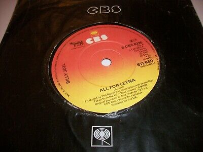 "BILLY JOEL- ALL FOR LEYNA VINYL 7"" 45RPM co"