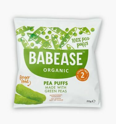Babease Organic Pea Puffs 20g (Pack of 5)