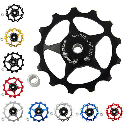 Steel Bearing Rear Derailleur Jockey Wheel For Mountain Bicycle Spare Fitting