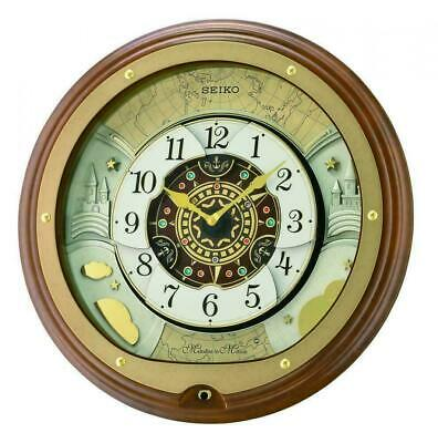 Seiko Musical Melodies in Motion Marionette Clock  QXM381B Our Price £249.95