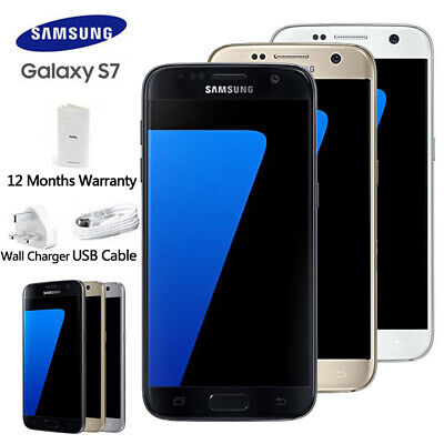 Samsung Galaxy S7 G930F LTE 4G 32GB Factory Unlocked Android Phone Sealed In Box