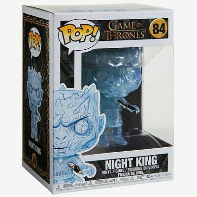 Game of Thrones Crystal Night King with Dagger Funko Pop! Vinyl No.84 NEW UK