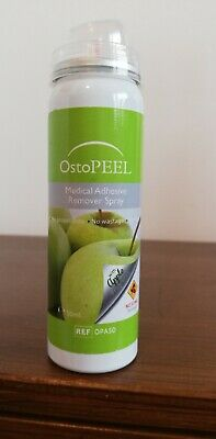 Ostopeel Medical Adhesive Remover Apple 50ml for stoma bag removal BN