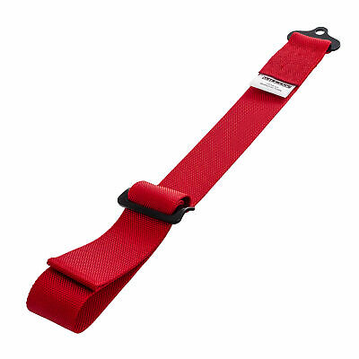 Willans Tow Strap, Adjustable Length with 7/16 UNF Mounting – Red