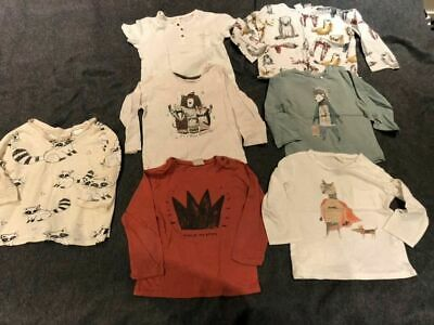 ZARA baby boy BUNDLE t-shirt/top 18-24m/ 2-3y / 3-4y children/long/short sleeves