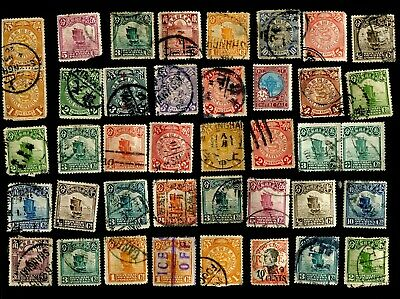 Large collection of very old stamps of China.