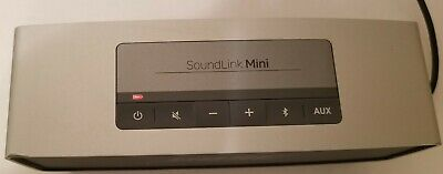 AS-IS Bose SoundLink Mini Bluetooth Wireless Portable Speaker - Silver / Parts
