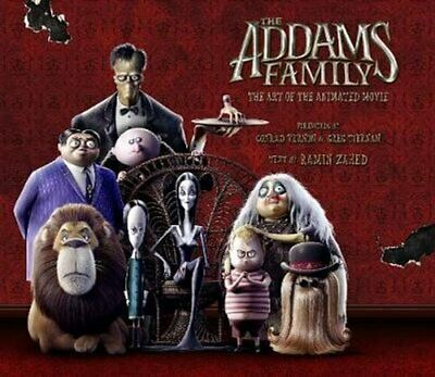 The Addams Family: The Art of the Animated Movie by Ramin Zahed 9781789092752