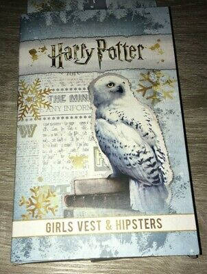 Girls Harry Potter Vest And Hipsters  Set Age 6-7 Years Bnib Xmas Gift Present
