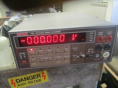 Keithley Model:  199 System DMM / Scanner  <