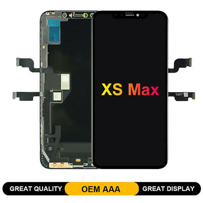 OEM For iPhone Xs MAX OLED Display Touch Screen Digitizer Replacement Screen LCD