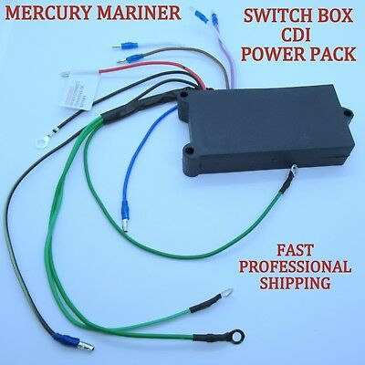 Mercury Mariner Outboard 2 Cylinder Switch Box CDI Power Pack 339-74552 A15 A19