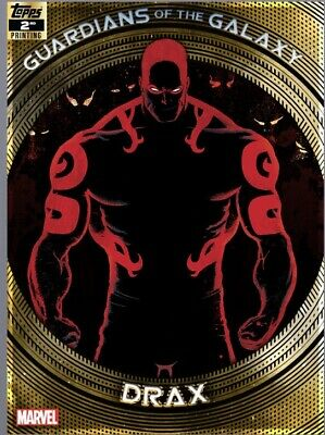 Topps Marvel Collect Card Trader Guardian Of The Galaxy 2Nd Printing Drax