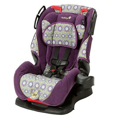 Baby 3 in 1 Convertible Car Seat Toddler Child Purple Travel Safe Adjustable New