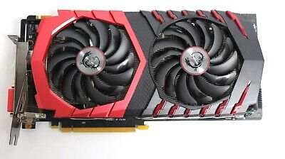 MSI Gaming GeForce GTX 1080 8GB GDDR5X SLI DirectX 12 V Graphics Card FOR PARTS