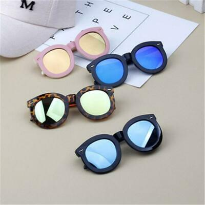 Kids Big Round Frame Sunglasses