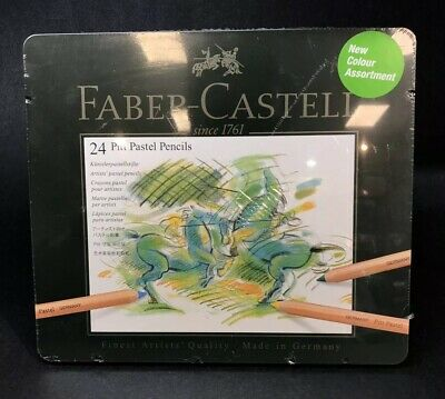 Faber-Castell - Pitt Pastel- Artists Quality Pencils - 24 Set 112124