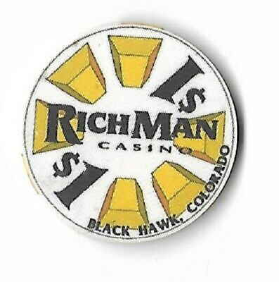 Richman Casino $1 Chip - Casino Closed   T11-46  Christmas Is Coming !