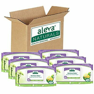 Aleva Naturals Bamboo Baby Wipes, 480 Count (480 count)