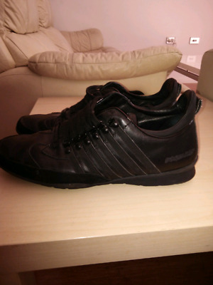 Dsquared2 shoes for man black 44 size