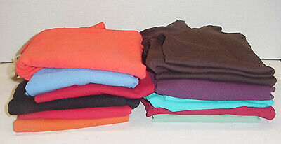 Three Dots Womens Long Sleeve Double V Neck Top Tee 13 Colors Pick Size & Color