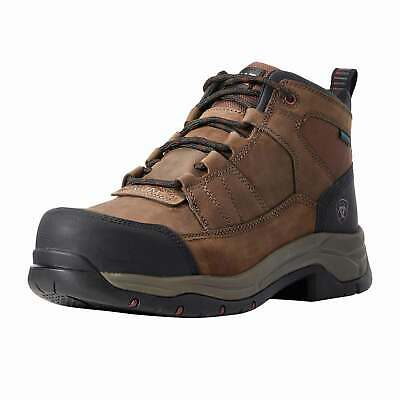 Ariat Telluride Work H2o Mens Boots Safety - Brown All Sizes