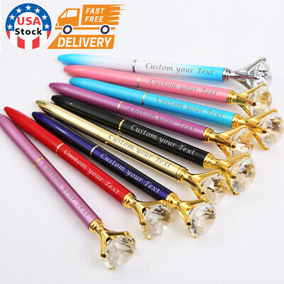 10x Engraved Custom Printed  pens. Name pens. Personalized pens. FREE Shipping
