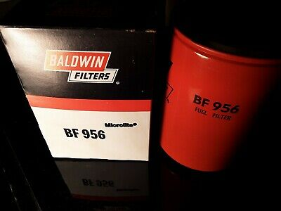 Lot of 2 Baldwin BF956 Spin On Fuel Filters. New old stock