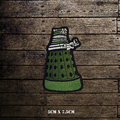 Dalek Doctor Who Iron Sew on Embroidered Patch