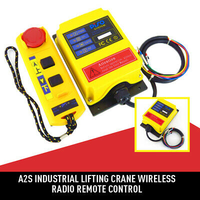 A2S Industrial Lifting Crane Wireless Radio Remote Control Transmitter Receiver
