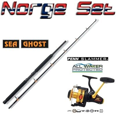 Norwegen Set Penn Slammer 560 + SEA GHOST 30LB