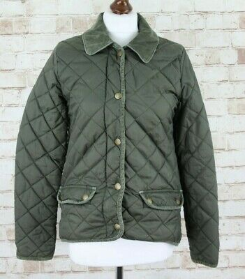 JOHNNIE B Green Quilted Jacket Size 13-14Y