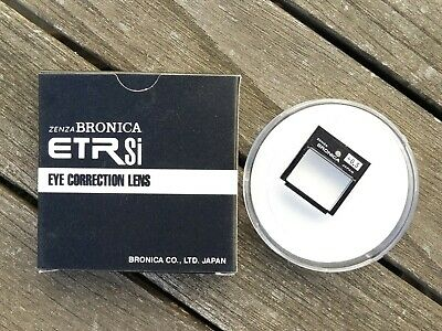 Bronica ETRSi Eye Correction Lens (+0.5) - For Viewfinder-E / AE Finder EII