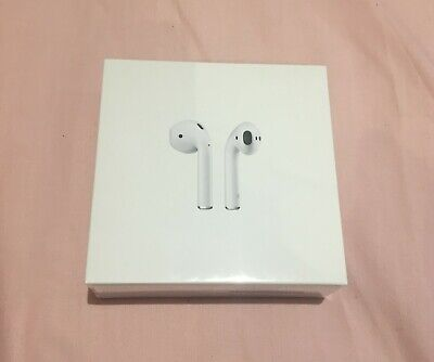 Brand New Apple AirPods 2nd Generation Wireless Charging Case - White *SEALED*