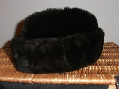 Vintage Mens Fur Hat From Dunn & Co - A Great British Outfitter  - Large Size