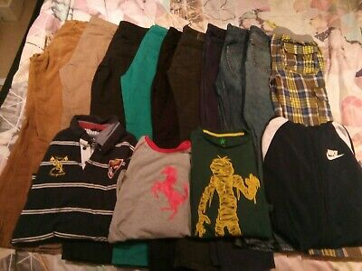 BUNDLE OF BOYS' CLOTHES Age 10 Years Trousers Tops John Lewis Nike Boden Winter