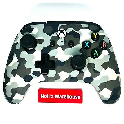 Power A Xbox One / Windows 10 Enhanced Camo Wired Controller VGC Works, US