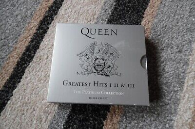 Queen: Greatest Hits I, II & III - The Platinum Collection Three CD Set