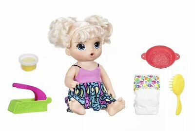 """Baby Alive Super Snacks """"Snackin' Noodles Baby"""" 20+ Phrases *New *Box Imperfect*"""