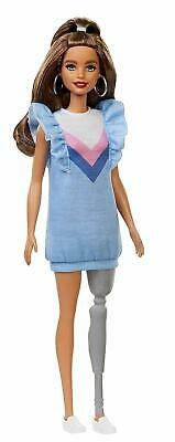 Barbie Fashionista Doll Prosthetic Leg Girls Fashion Toy Collectible Gift NEW