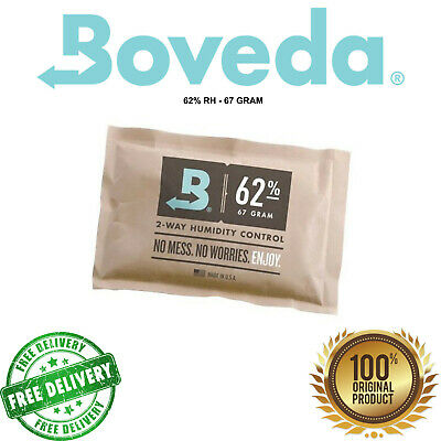 Boveda 2-way Humidity Pack | 62% RH | 67gram  + Free Shipping!
