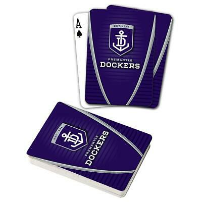 Fremantle Dockers Playing Cards